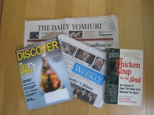 Newspaper etc