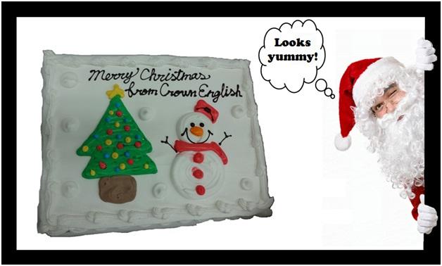 XMas13 cake and santa